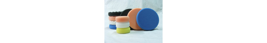 Our selection of pads in kit.